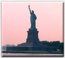 The Big Queen Herself, Lady Liberty as seen from the Staten Island Ferry, Summer 2001